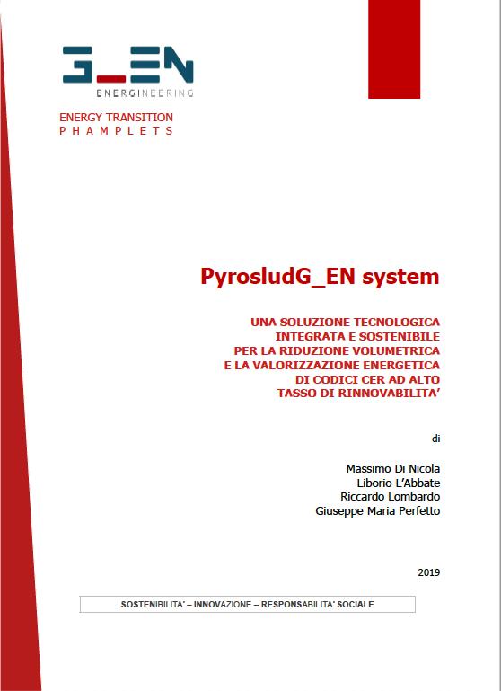 Pyrosludg_en system –Una soluzione per la riduzione volumetrica e la valorizzazione energetica di codici Cer